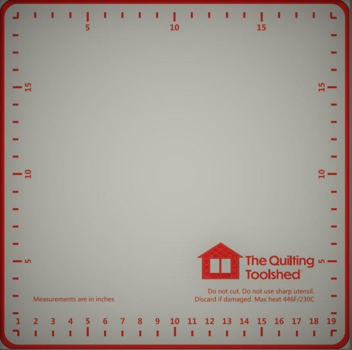 20 Square Silicone Non-Slip Pressing Mat