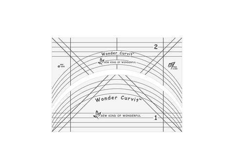 Wonder Curvit Long Arm Ruler Set