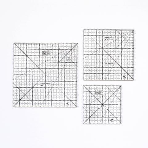 Sew Square Rulers by Sew Kind of Wonderful