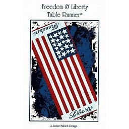 Freedom and Liberty Tablerunner