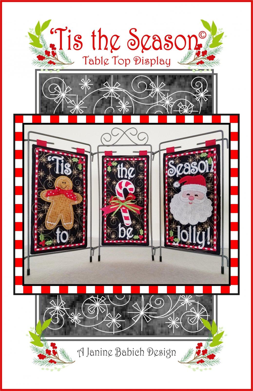 Tis the Season to Be Jolly! Tri Pic Design