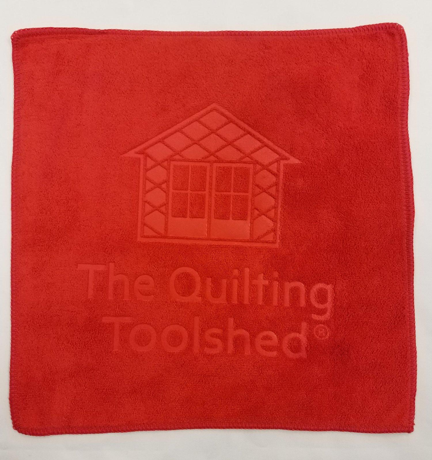 Red Microfiber Towel