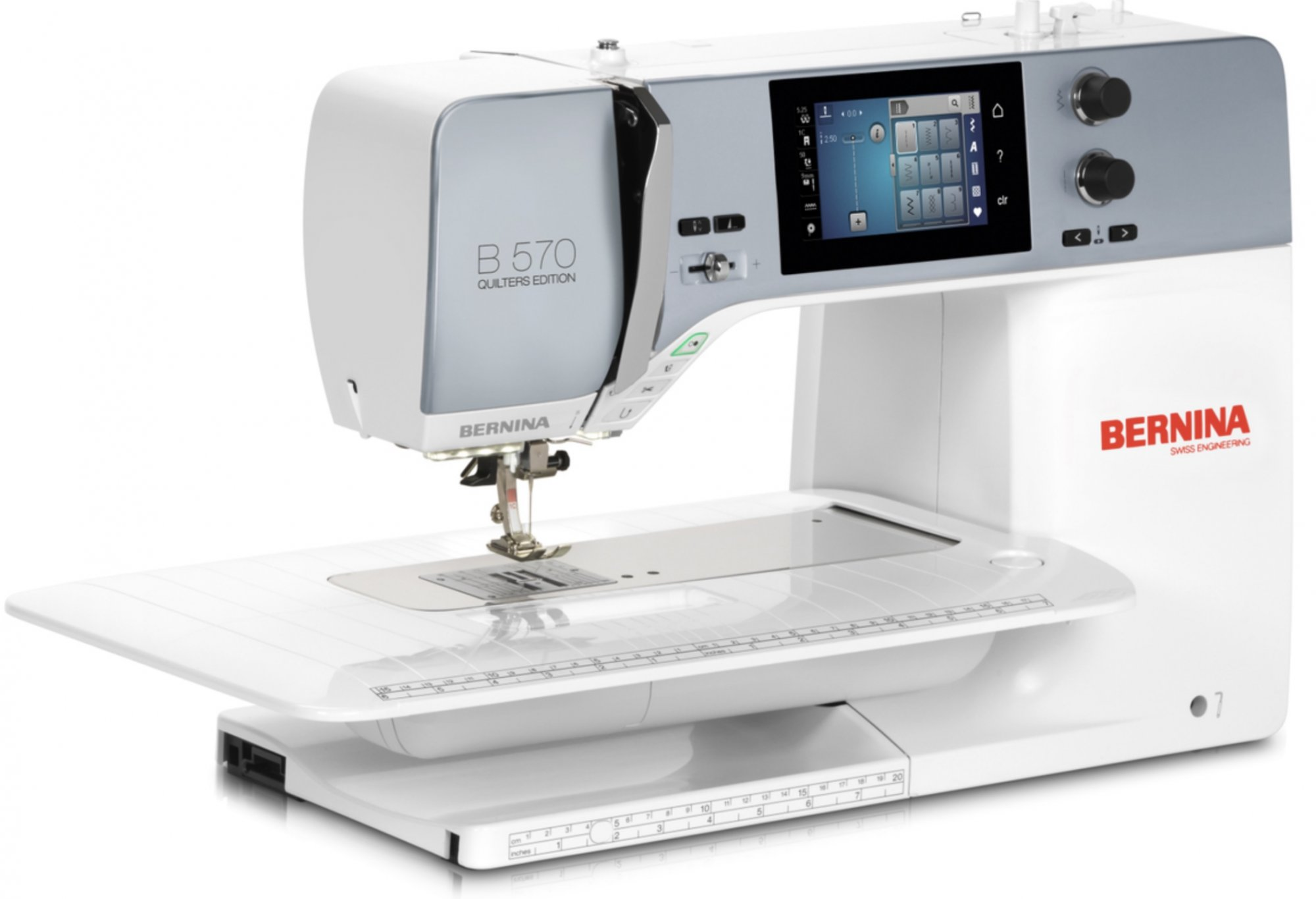 BERNINA 570QE - The versatile one with the wide range of functions.