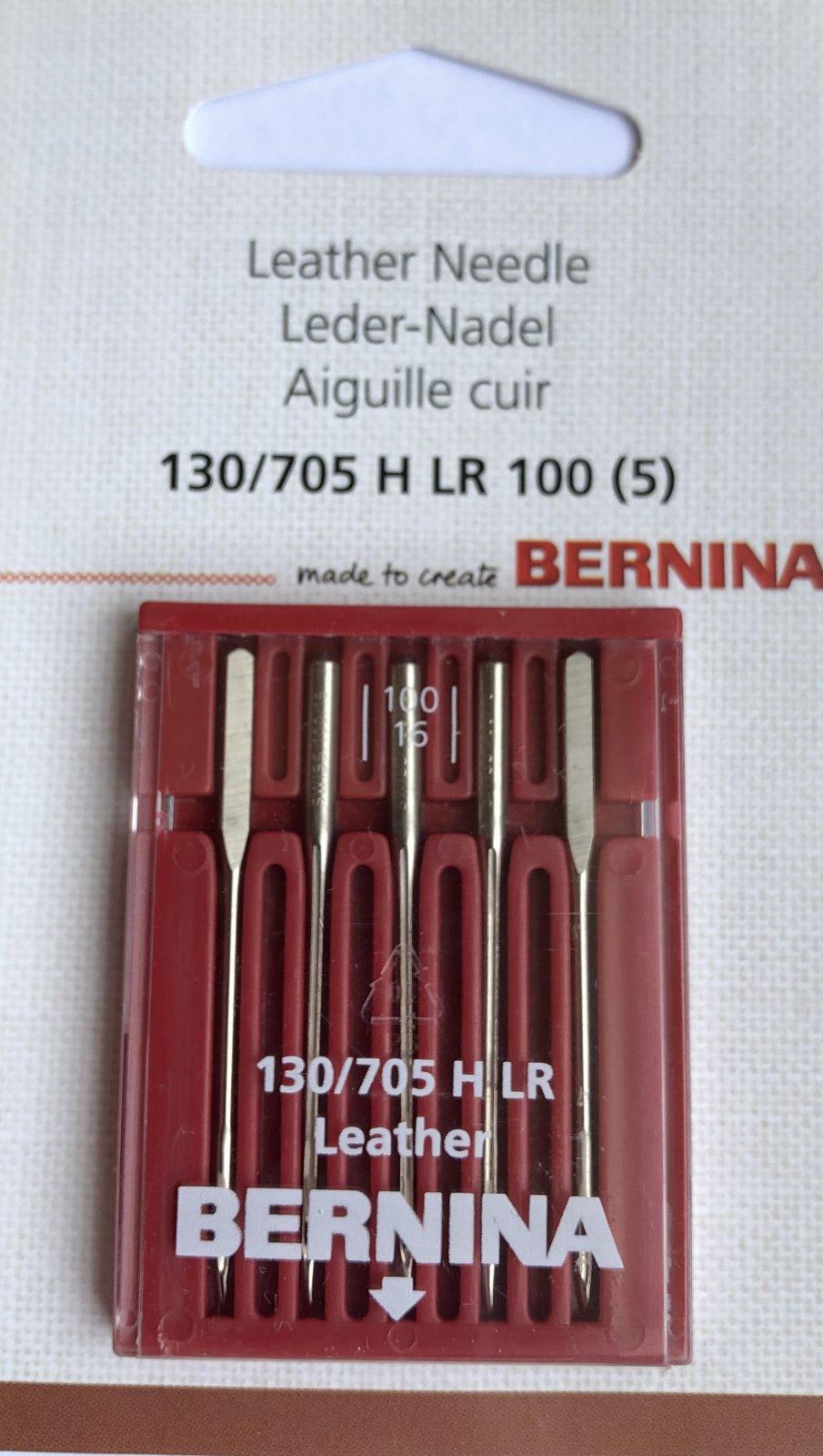 Bernina Leather Needles 100/16  Pack of 5