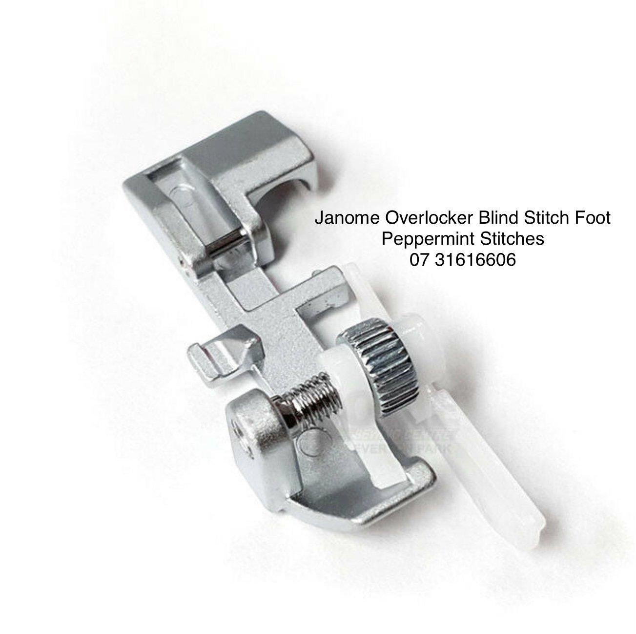 Janome Overlocker/Serger Blind Stitch Foot compatible - MyLock, EzyLock