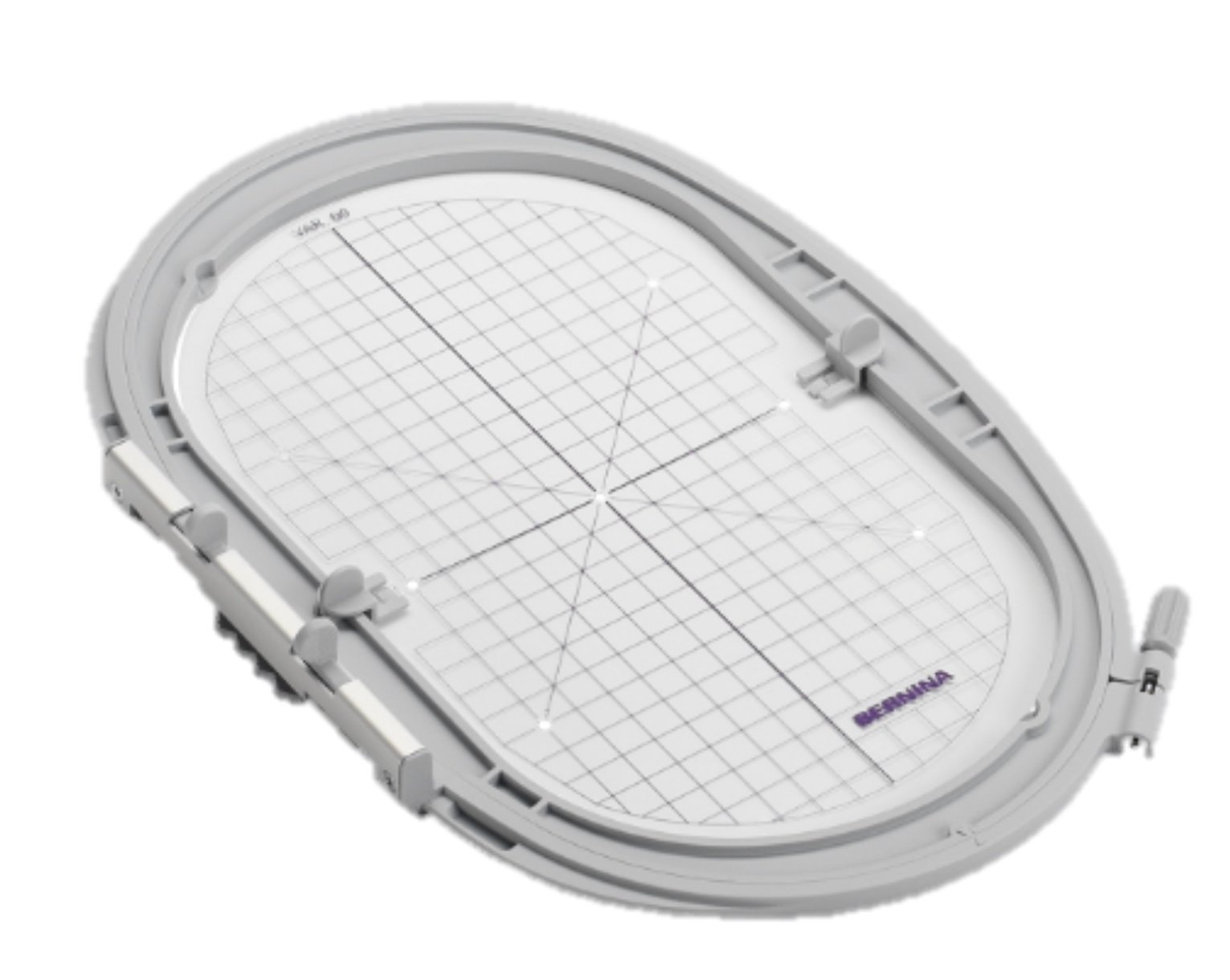 "Bernina Embroidery Hoop Large Oval 5.8"" x 10.2"" (14.5 x25.5cm)  Embroidery Modules 5 & 7/8 Series"