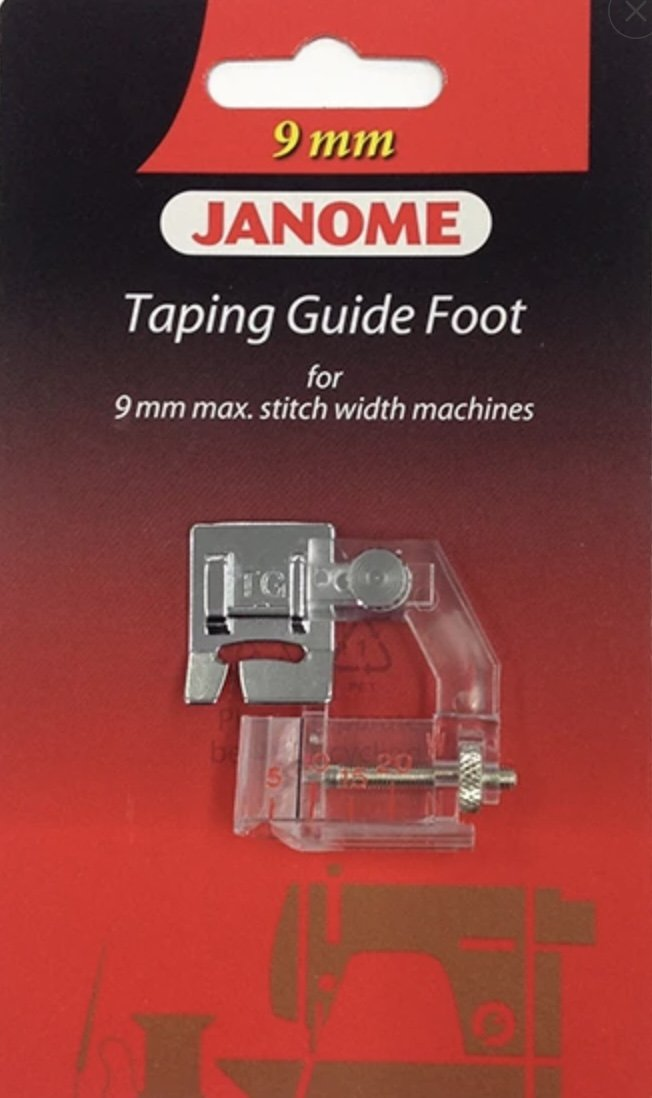 Janome Taping Guide Foot  9mm Machine