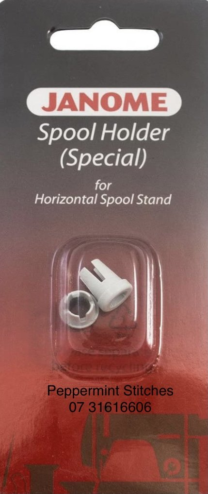 Janome Spool Cap Small - for all Janome Machines, use with Rasant thread and other cardboard wound Sewing threads