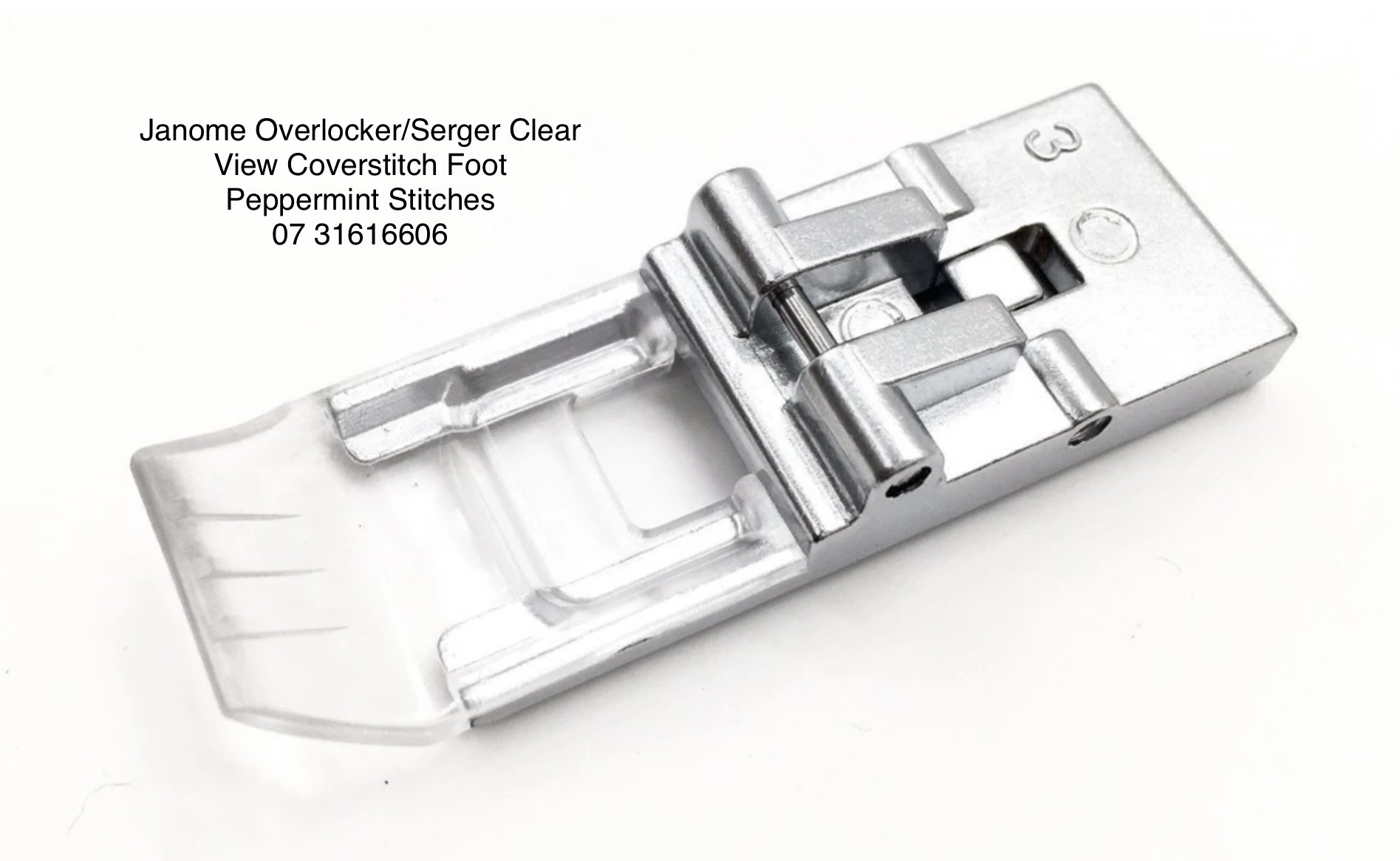 Janome Coverstitch Clear View Foot