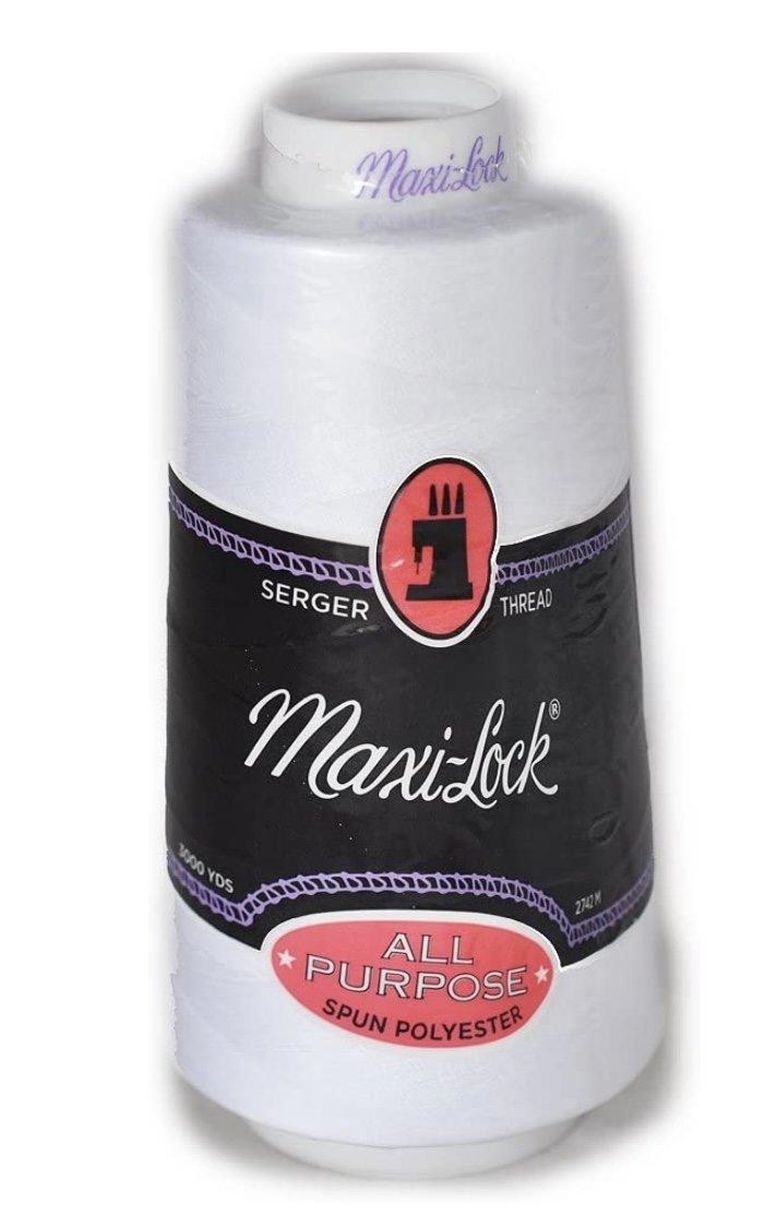 Maxi-Lock Thread White 40wt 3000yds