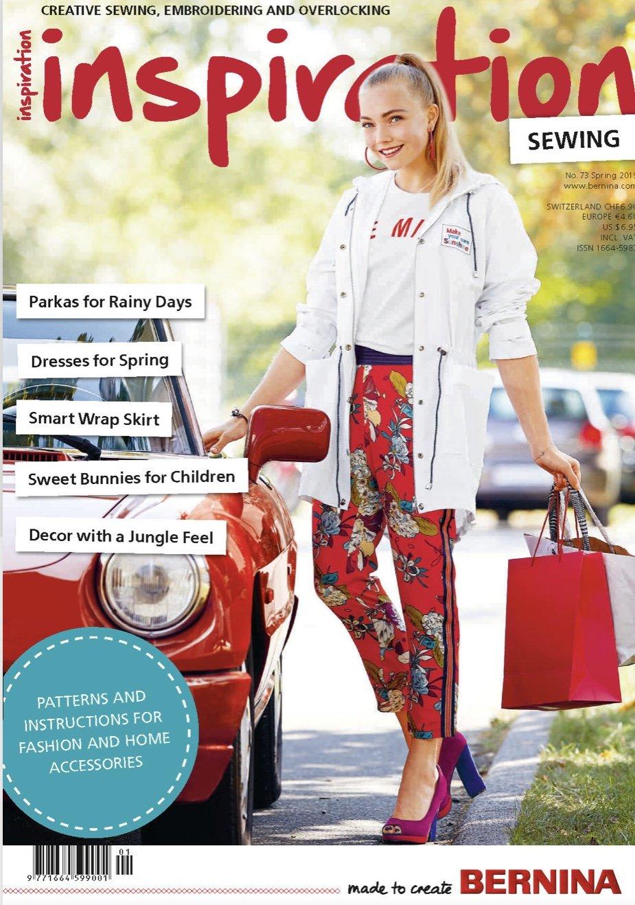 Bernina Club Magazine #73 Spring 2019