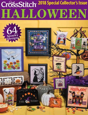 $15.00 - Just Cross Stitch Halloween 2018 - Special Collector's Issue