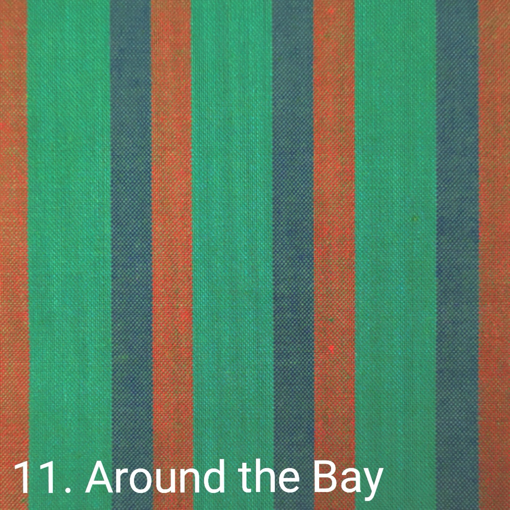 $24.00/m - Wanderer Woven Stripes by Indie Fabric Studio for A Day in the Country - Around the Bay