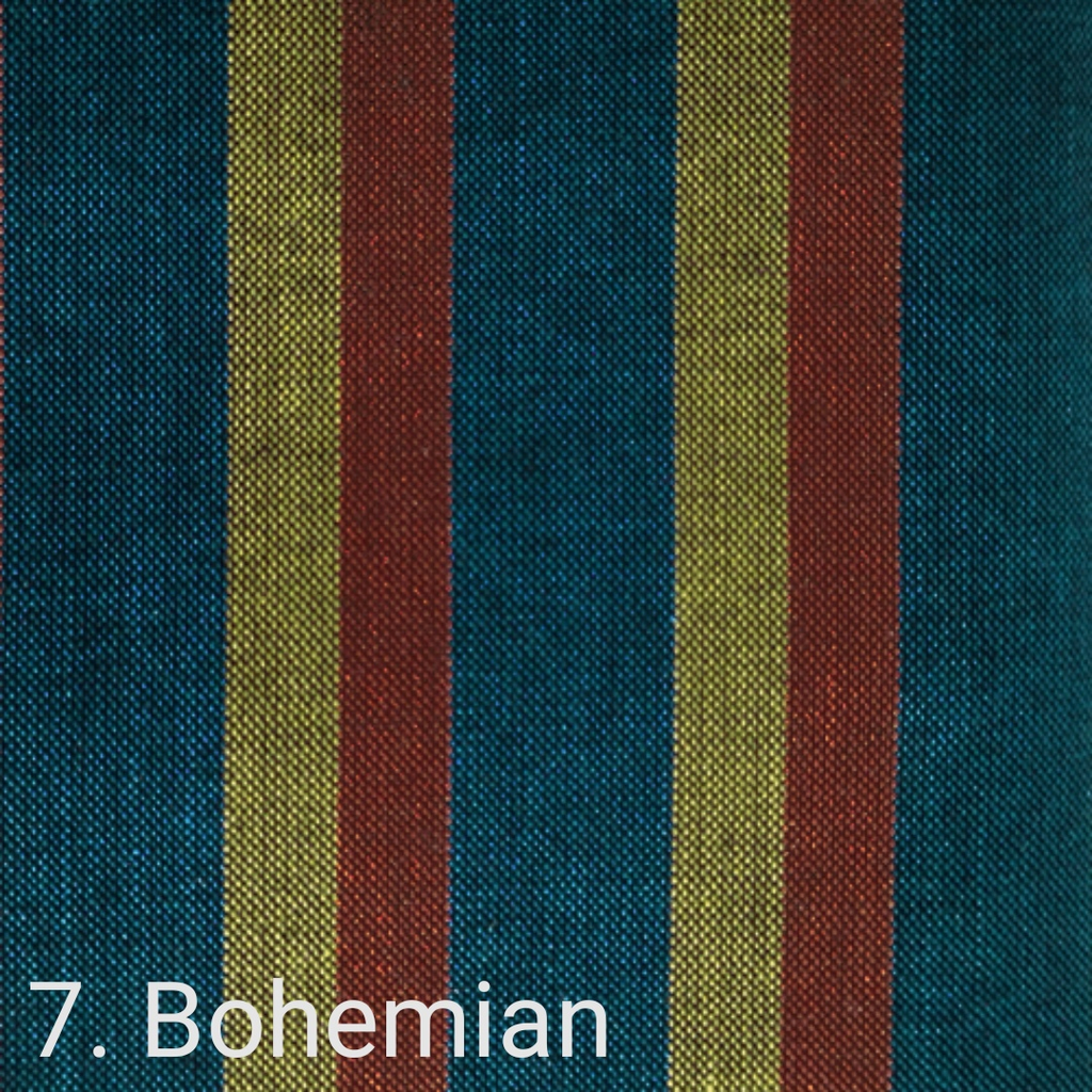 $24.00/m - Wanderer Woven Stripes by Indie Fabric Studio for A Day in the Country - Bohemian