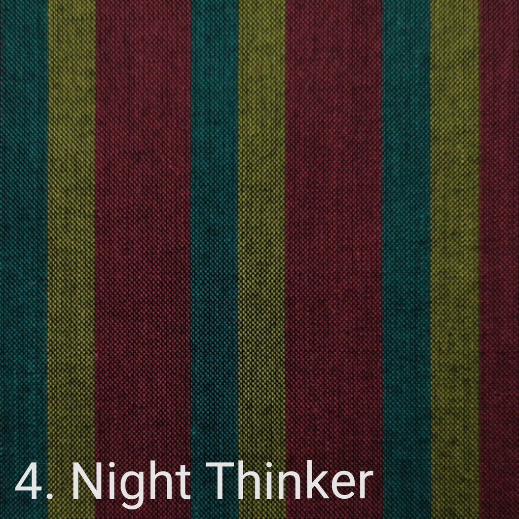 $24.00/m - Wanderer Woven Stripes by Indie Fabric Studio for A Day in the Country - Night Thinker