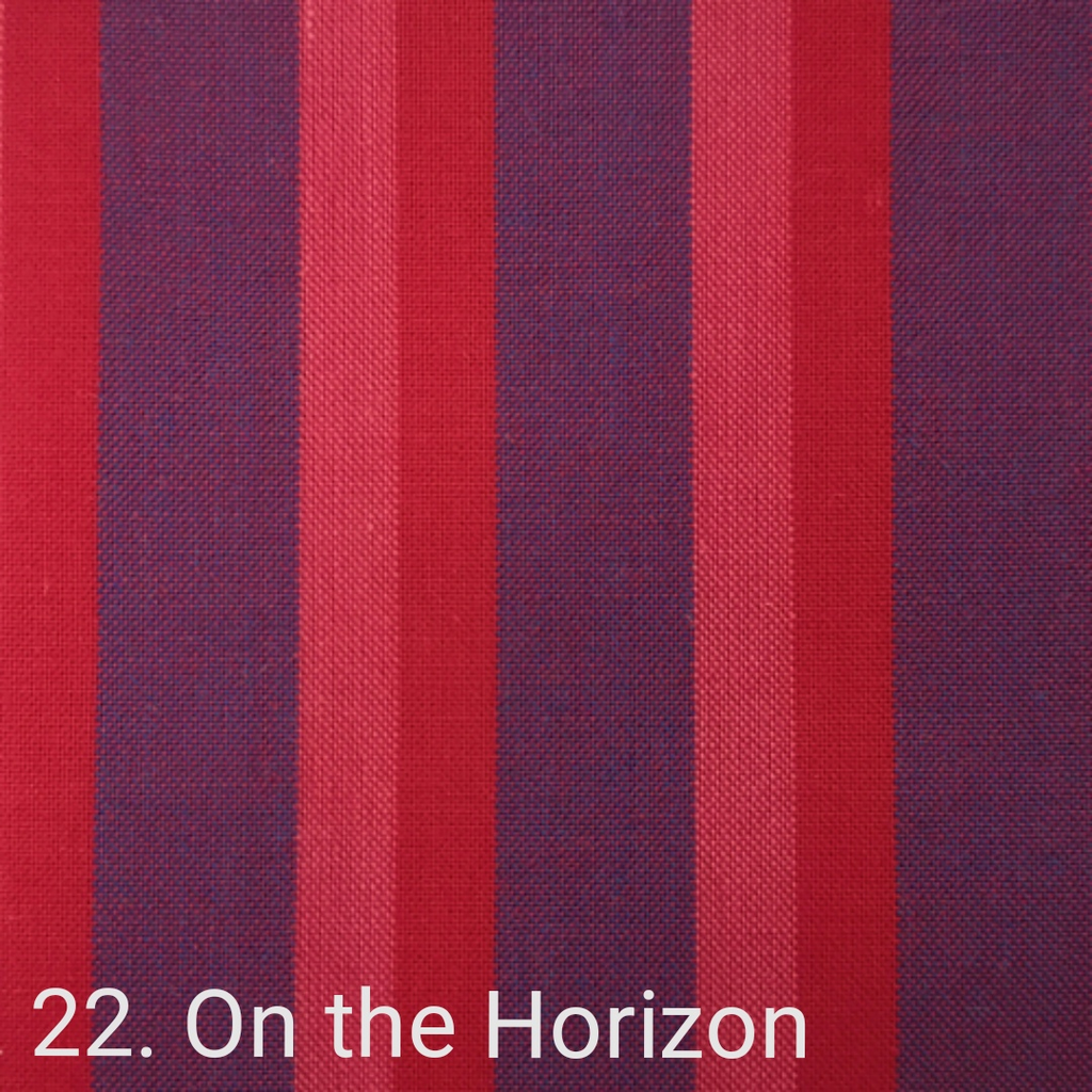 $24.00/m - Wanderer Woven Stripes by Indie Fabric Studio for A Day in the Country - On the Horizon