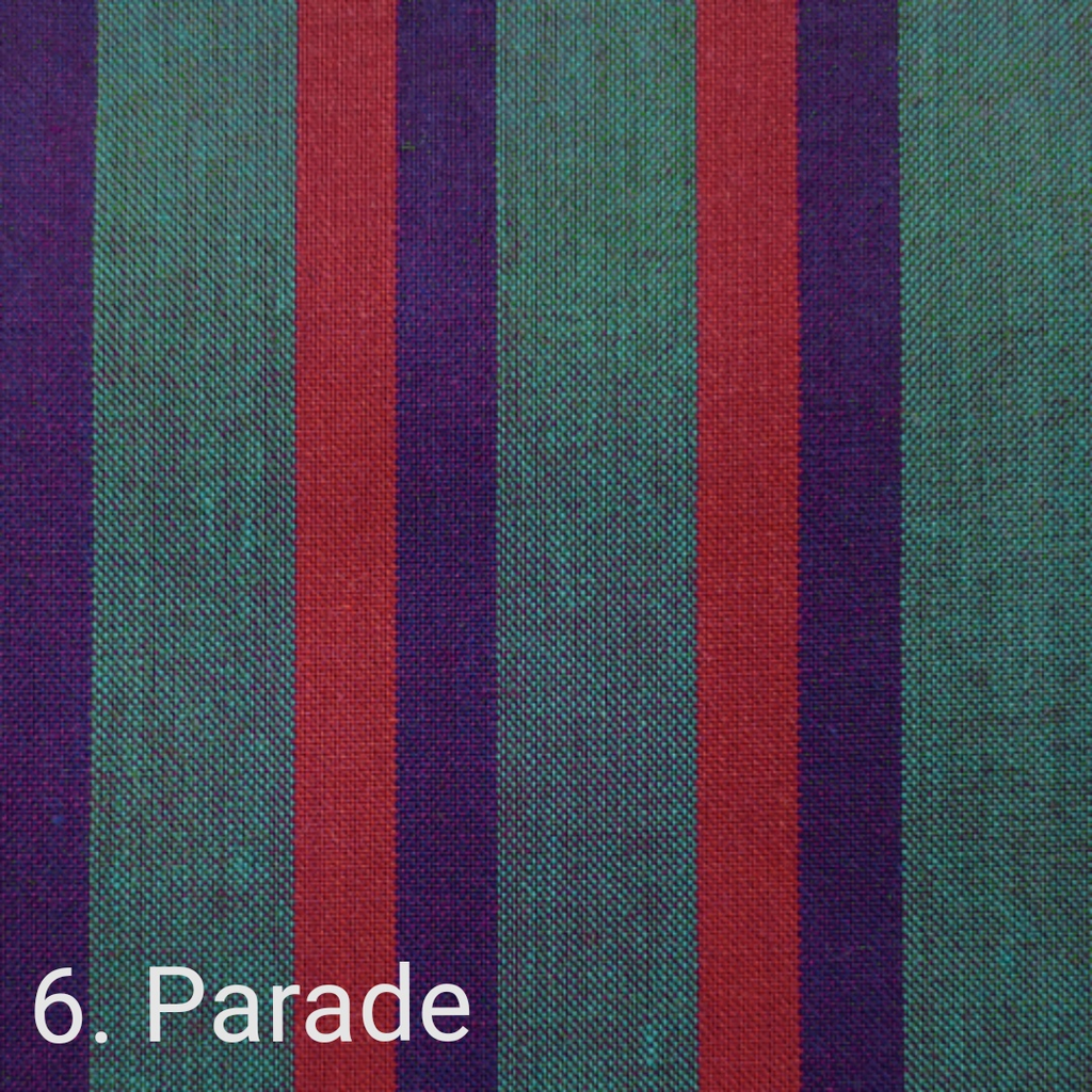 $24.00/m - Wanderer Woven Stripes by Indie Fabric Studio for A Day in the Country - Parade