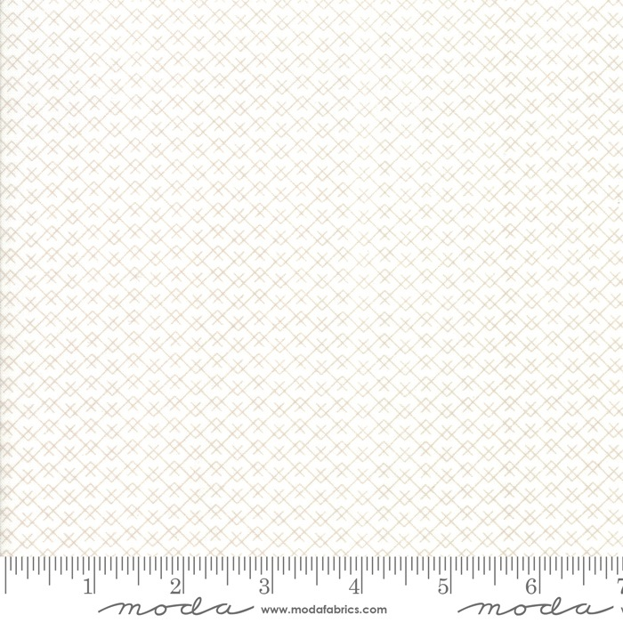 $27.00/m - Harvest Road by Lella Boutique for Moda Fabrics - 5105-11 - Mountainside in Eggshell/Natural