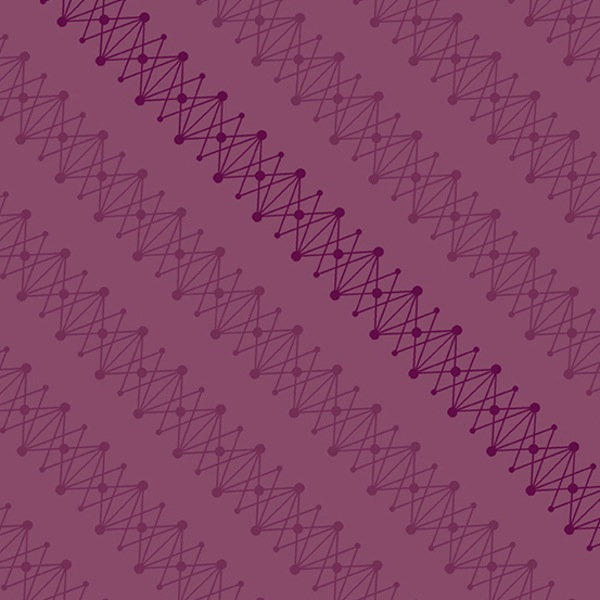 $27.00/m - Quantum by Giucy Giuce for Andover Fabrics - A8959P - DNA ibn Plumbago/Pink