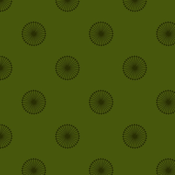 $27.00/m - Quantum by Giucy Giuce for Andover Fabrics - A8961G - Chromosome in Spruce/Green