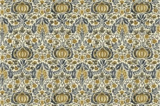 $28.40/m - Montagu by Morris & Co. for Free Spirit Fabrics - PWWM016 - Little Chintz in Fawn