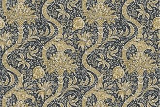 $28.40/m - Montagu by Morris & Co. for Free Spirit Fabrics - PWWM017 - Indian in Fawn