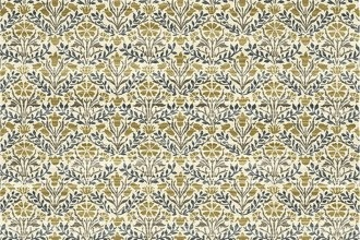 $28.40/m - Montagu by Morris & Co. for Free Spirit Fabrics - PWWM021 - Bellflowers in Fawn