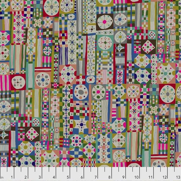 $29.00/m - Savernake Road by Monika Forsberg for Free Spirit Fabrics - MF001 - Courthope in Cheers