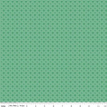 $29.00/m - Sugarhouse Park by Amy Smart for Riley Blake Designs - C8891 - Medallion in Green