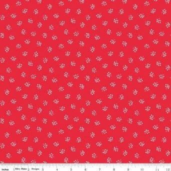 $29.00/m - Sugarhouse Park by Amy Smart for Riley Blake Designs - C8893 - Posey in Red