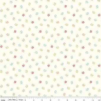 $29.00/m - Sugarhouse Park by Amy Smart for Riley Blake Designs - C8993 - Posey in Cream
