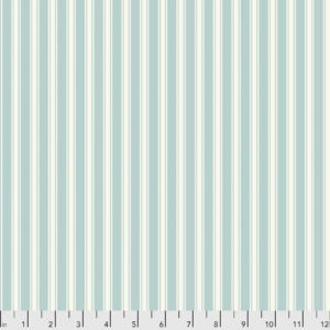 $29.00/m - Vintage Collection by Sanderson for Free Spirit Fabrics - PWSA008 - Tiger Stripe in Aqua