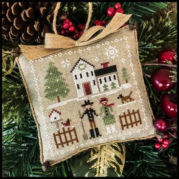 $8.50 - Farmhouse Christmas Series by Little House Needleworks - No. 8 Farm Folk