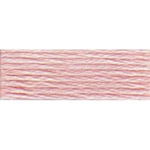225 DMC No 8 Perle Thread - Lt. Shell Pink Ball