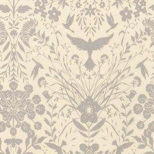 Black & White Collection by Jennifer Sampou for Robert Kaufman Fabrics - AJS15015-290 Flora in Ash