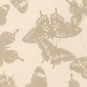 Black & White Collection by Jennifer Sampou for Robert Kaufman Fabrics - AJS-15019-290 Butterfly in Ash