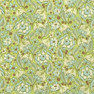 Chipper by Tula Pink for Free Spirit Fabrics - PWTP079 - Wild Vines in Mint