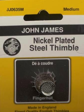 Crimped Top Thimble from John James - Medium