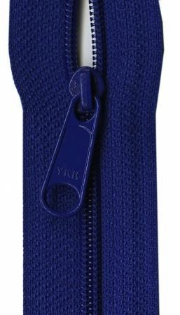 Designer Accents Ziplon Closed Bottom Zipper 22in Royal Blue from YKK