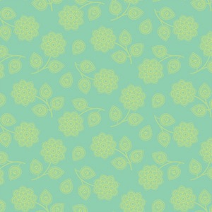 Eden by Tula Pink for Free Spirit Fabrics - Henna in Aqua - TP074