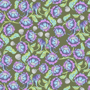Eden by Tula Pink for Free Spirit Fabrics - Lotus in Amethyst - TP071