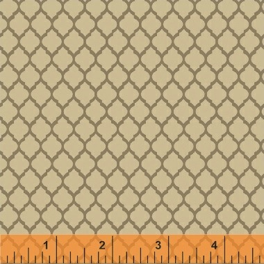 Elm Cottage by L'Atelier Perdu for Windham Fabrics - 42178-3 - Tile in Tan