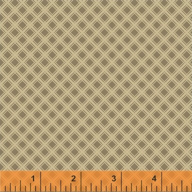 Elm Cottage by L'Atelier Perdu for Windham Fabrics - 42181-3 - Diamond Plaid in Tan