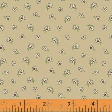 Elm Cottage by L'Atelier Perdu for Windham Fabrics - 42182-1 - Mini Floral in Blue