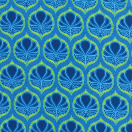 Fancy by Lily Ashbury for Moda Fabrics - Coco Sky Blue 11492-13