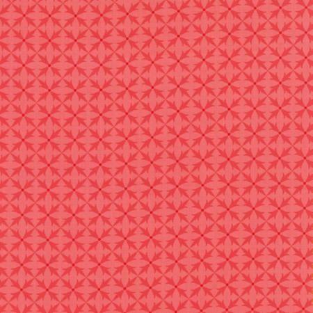 Fancy by Lily Ashbury for Moda Fabrics - Criss Cross Winter Pink 11497-18