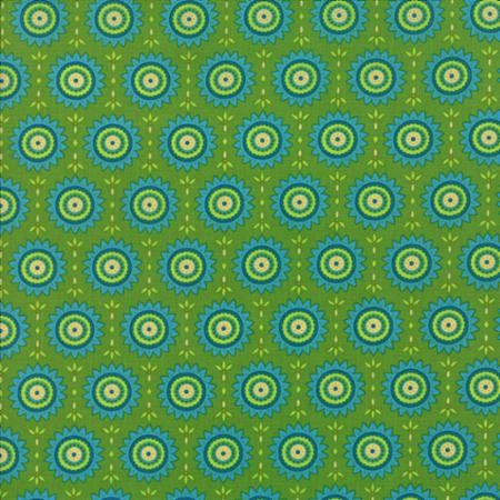 Fancy by Lily Ashbury for Moda Fabrics - Sunny Warm Sage 11495-15
