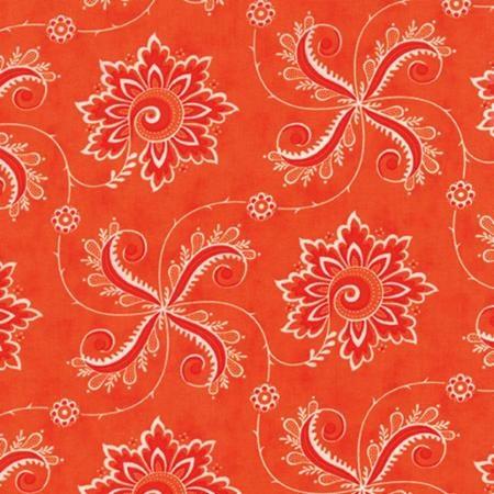 Fancy by Lily Ashbury for Moda Fabrics - Twirl Orange Spice 11493-19