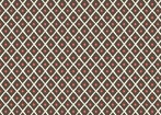 Feather N Stitch by Sarah Watts for Blend 110.101.02.2 Dot Trellis Brown