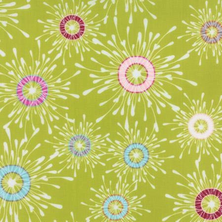 Flow by Zen Chic for Moda Fabrics - 1590-16 - Papyrus Apple